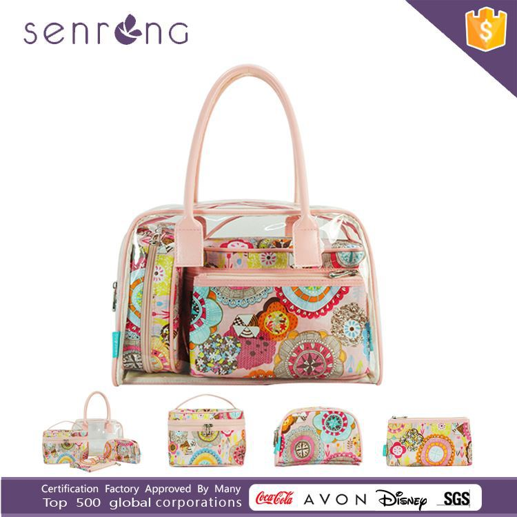 Hot Sale Cosmetic Bag Set/Toiletry Bag Set