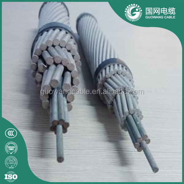 Power Transmission Overhead Bare Aluminum Conductor AAC AAAC ACSR Conductor Standard 25mm 35mm Price Per Meter
