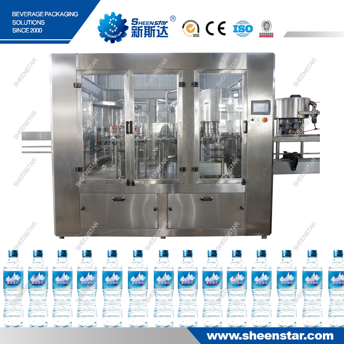 500ML Full Automatic Mineral Water Pure Water Production Line Machine