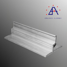 ISO aluminium guard rail roll forming machine extrusion profile