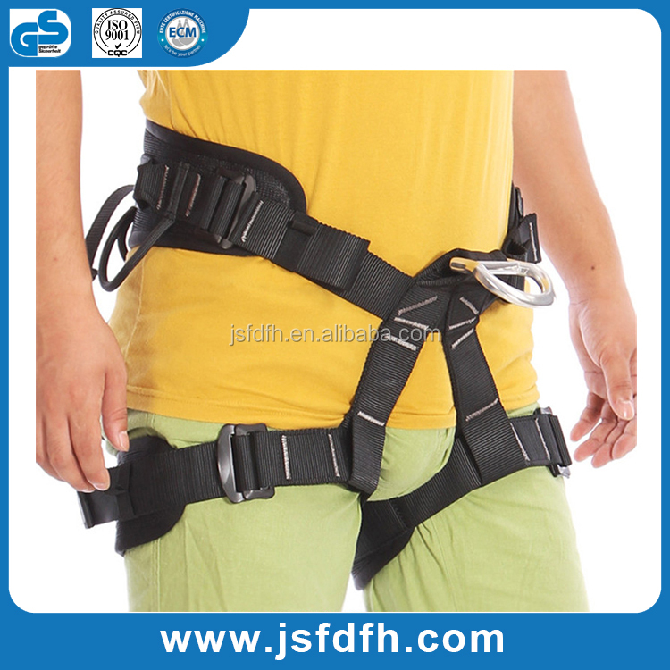 CE Certificated Fashionable Rock Climbing Safety Harness Half Body Safety Belt
