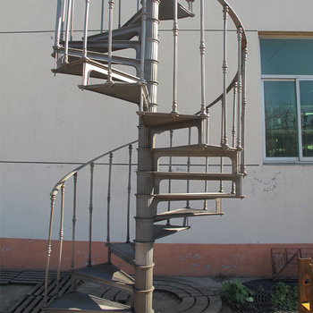 Big promotion for cast iron spiral staircase