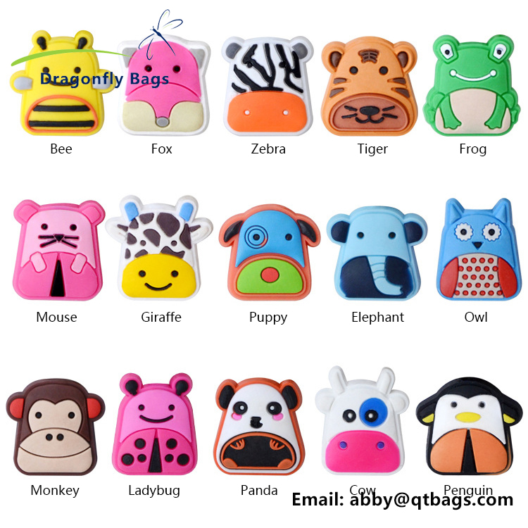 2017 smart design boy girl kids zoo animal backpack