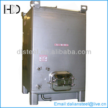 Wine fermenter stainless steel tank with dimple jacket