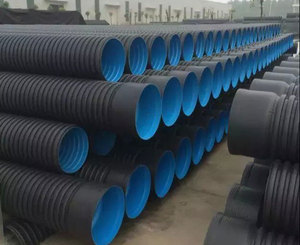 24 inch corrugated drain pipe double wall corrugated pipe line corrugated plastic pipe sizes