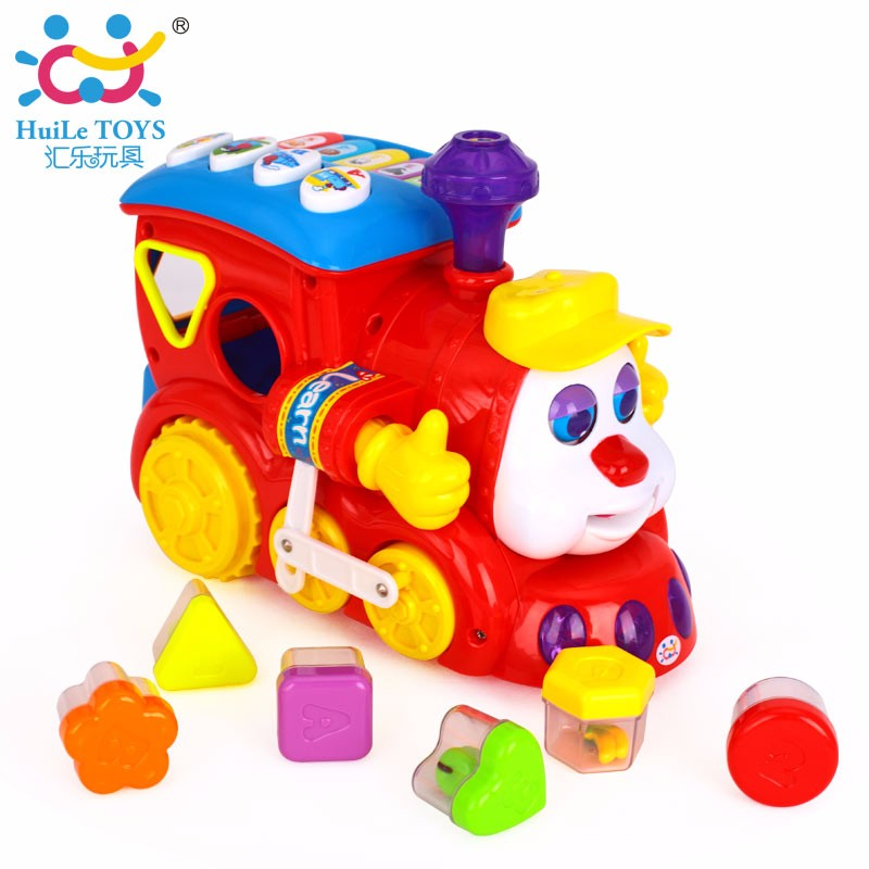 2017 Kid Musical Electric Train Toys With Light