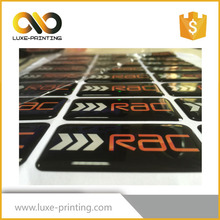 High resolution wholesale custom logo printed mirror strong self Adhesive roll coated sticker paper for packing