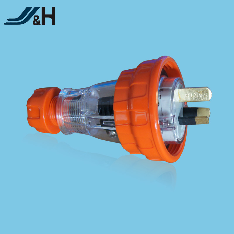 Australia SAA proved 3 pin 15 amp socket power polycarbonate insulating industrial socket