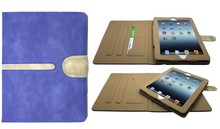 Buckle Suede Leather Smart Case Cover for iPad Air 5