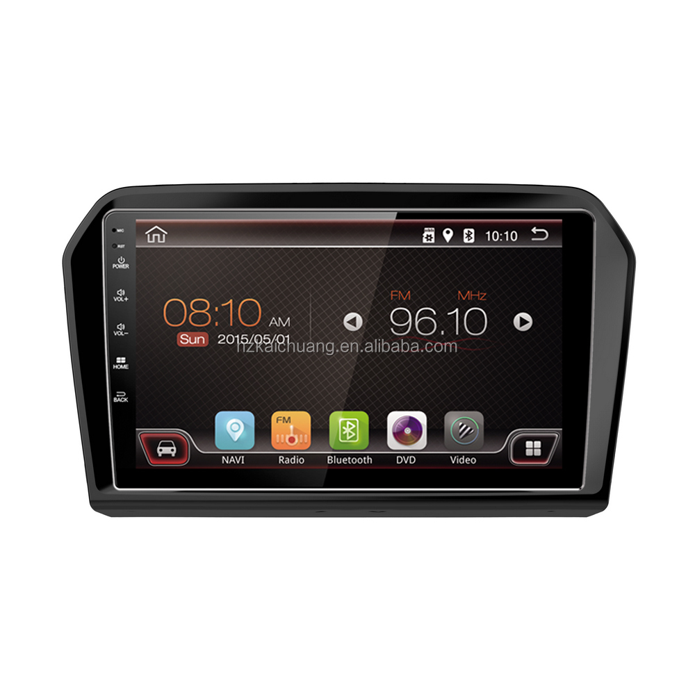 Car DVD Player 2Din Android Car Audio with HD screen and Lived Wallpater for Route Navigation