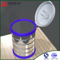 China Xiamen Manufacturer Plastic Lid For Canned Milk Powder