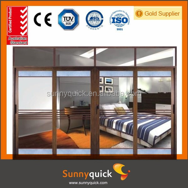 made in china standard size aluminium door and windows