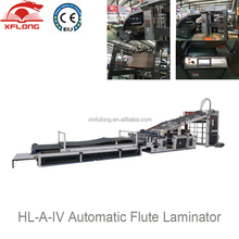 High speed Automatic carton board flute laminating machine, laminator for covering cardboard