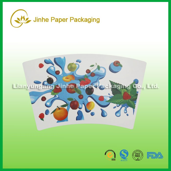 pe coated paper fan/paper sheet/cup paper factory with own KUNLUN bank