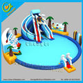 New design water park inflatable