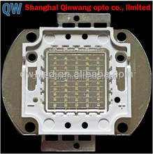 OEM Service shanghai led manufacturer 50W blue red green COB led chip