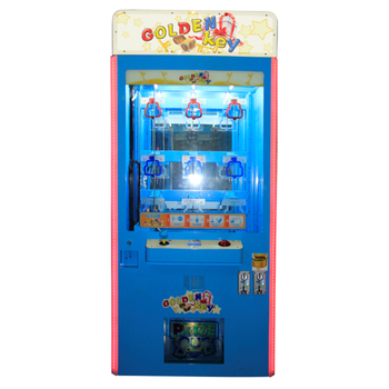 Elong Mini Golden Key reward game machine prize gift machine coin operated toys claw machine