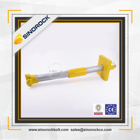 Sinorock high quality different types of anchor bolts / rock bolts