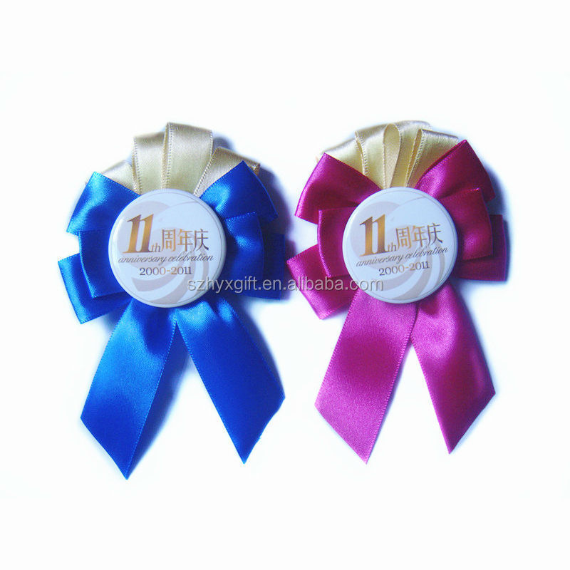 Disney Factory Made Souvenir Handmade Satin Ribbon Rosette Flowers For Party