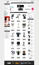 Creative Camera E-commerce Web Design Service