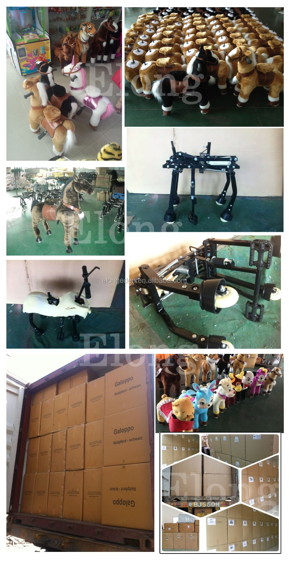 Factory price mechanical pony horse mechanical horse for sale mechanical walking horse