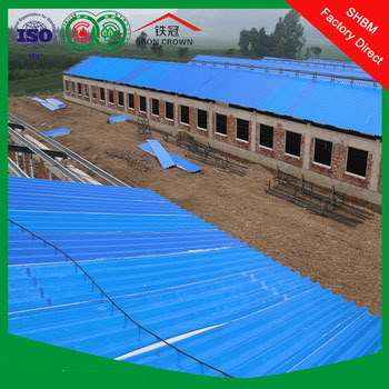 high strength MGO anti-corrosion roof for poultry house , insulated roof for poultry hous , waterproof roof for poultry house