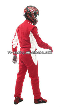 Wholesale:Two Layer Flame-Retardant Auto Racing Suit
