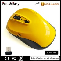 Supporting OEM Colorful Cheapest Personalized Wireless Mouse