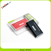 Hot rechargeable cell phone power bank for digital products MP26A