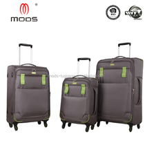 HIGH QUALITY FOUR WHEELS SPINNER POLYESTER ROYAL TRAVEL LUGGAGE WHOLESALE