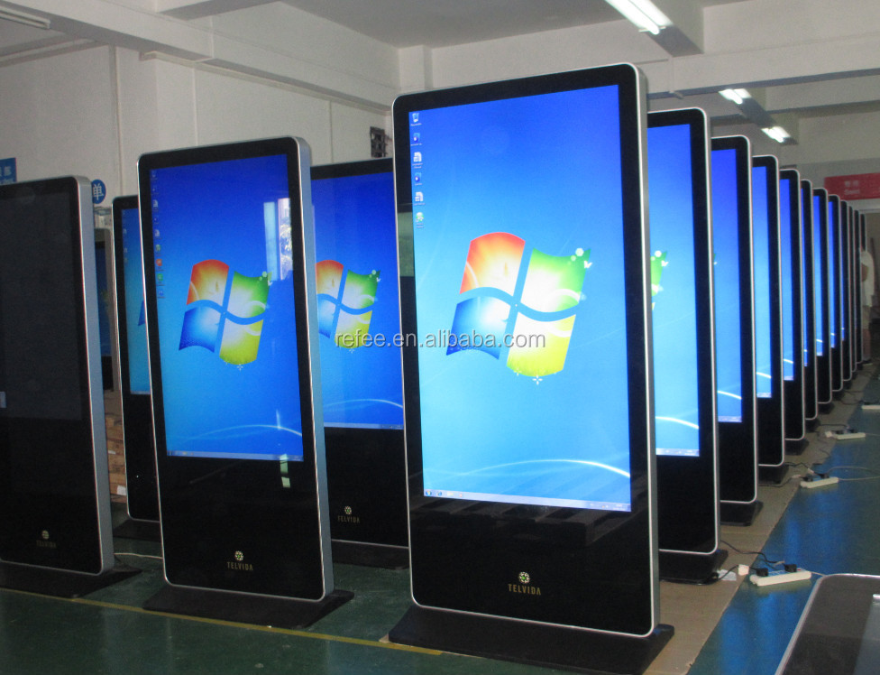 42 Inch Digital Signage Display Vertical Digital Signage