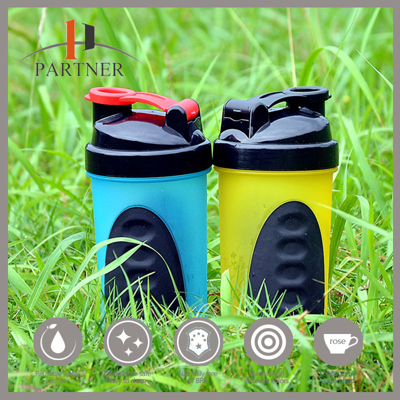 2016 New Product Best Protein Joyshaker Sport Plastic Drinking Plastic Bottle Manufacture Without Labels
