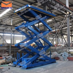 4m lifting height electric scissor lift table