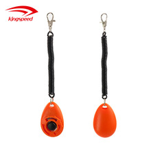 New Design Colorful Dog Training Plastic Clicker with Wrist Strap