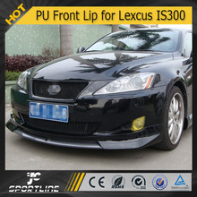 JC Auto Parts PU Front Bumper Lip for Lexus IS300 2009 2010