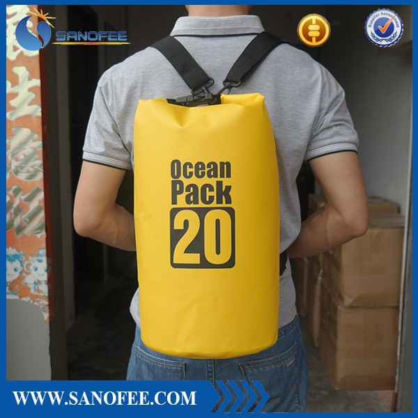 wholesale higher quality waterproof nylon dry bag for sports