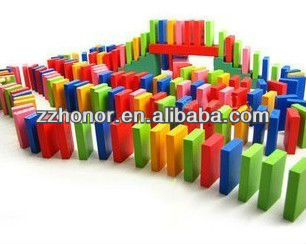 2013 hot dominoes wooden toy for kids, baby building blcok,120pcs of dominoes