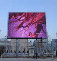 super bright waterproof smd P10outdoor advertising led display screen