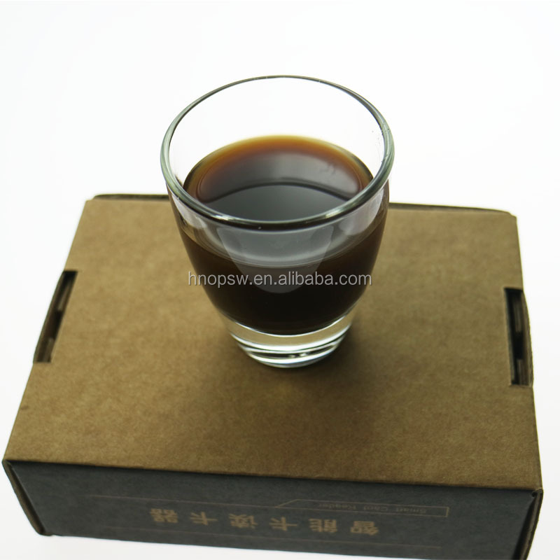 Veterinary medicine pure Chinese herbs oral liquid brown liquid to promote production