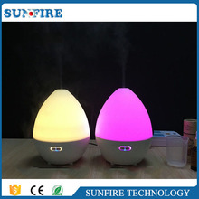 Electric fragrance aroma therapy diffuser with bluetooth speaker