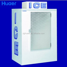 Huaer ice storage bin Indoor/outdoor bagged Ice Storage Bin/Ice Merchandiser , ice shop equipment