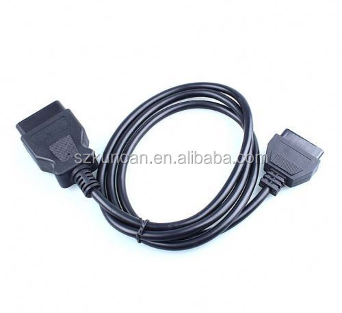 OBD2 to USB/DC/RJ45 plug obd cable for dignositc