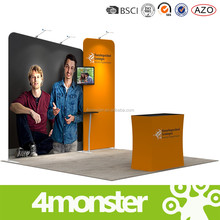 china suppliers portable tension fabric modern exhibition booth