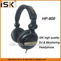 closed monitoring headphone