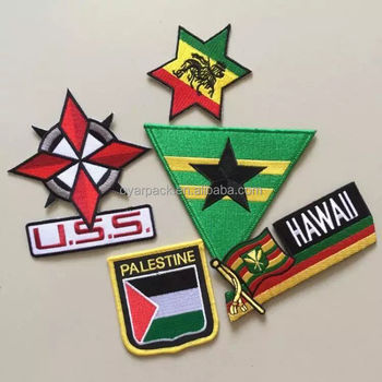Custom Personalized Woven Badges for Kids School Security Outdoor Clothes Military