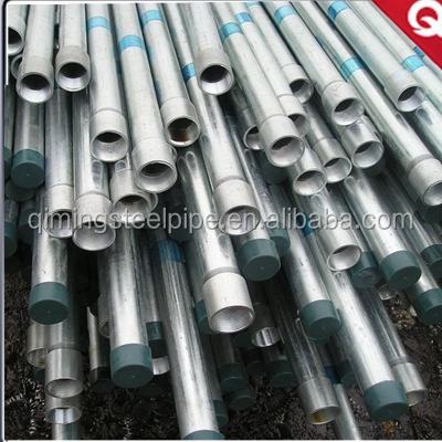 Tianjin manufacturer building materials for greenhouse frame carbon galvanized steel pipe