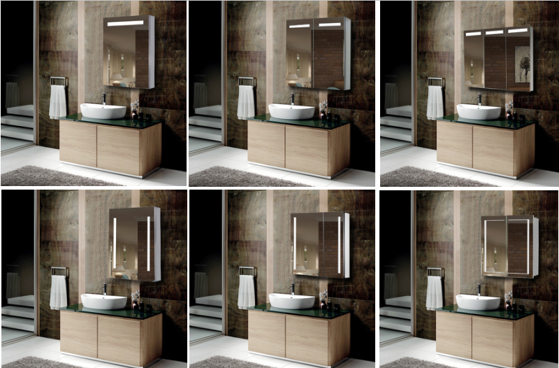 American Style Complete High End Bathroom Cabinets