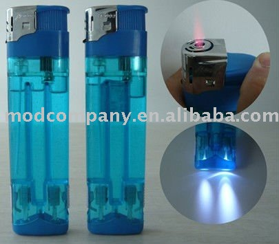 Electronic Big /Double LED Lighter