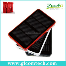 Best buy solar power bank dual usb battery charger for iPhone Samsung psp