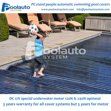 outdoor rigid solar PC safety swimming pool cover
